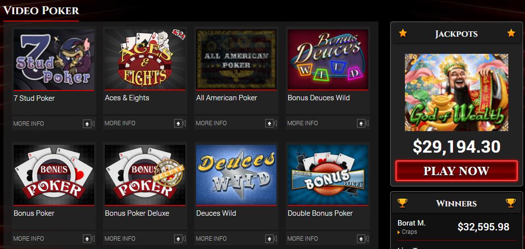 Best Video Poker Games